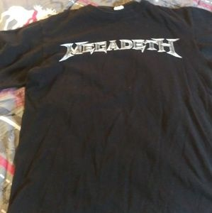 Other - Megadeth t shirt mens size small. (Missing tag)